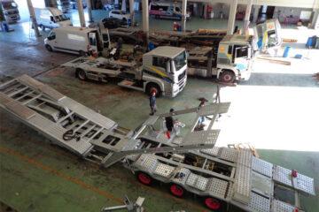 Maintenance de véhicules industriels
